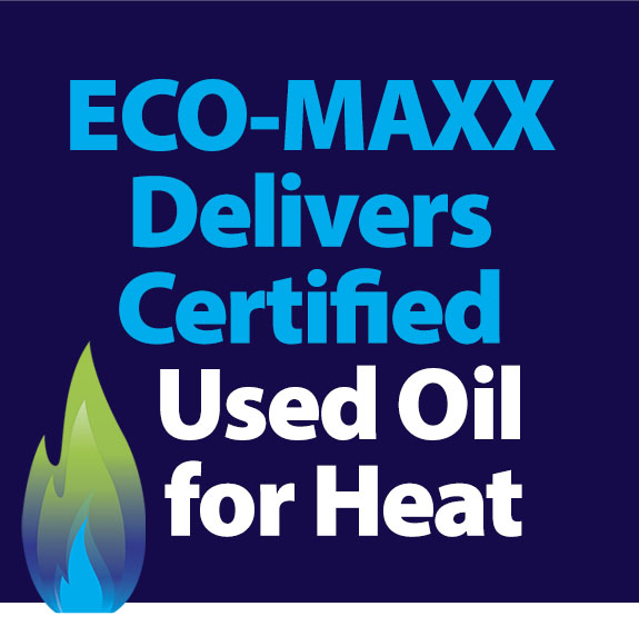Certified used oil for heat